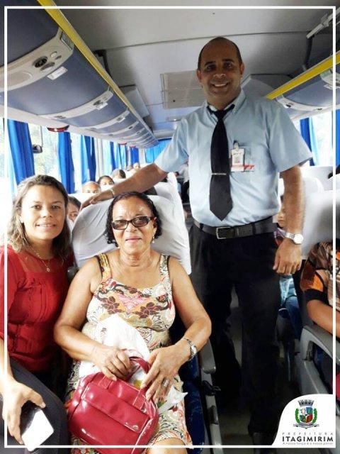 Pacientes foram transportados com segurança e conforto (ASCOM)