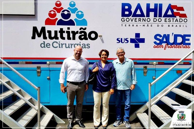 10 pacientes de Itagimirim e União Baiana foram encaminhados para procedimento de cirurgias (ASCOM)