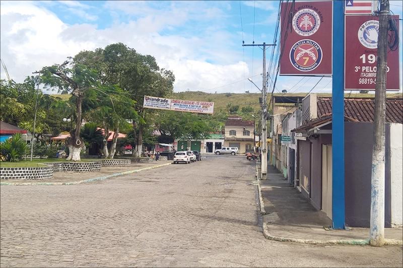 A polícia está trabalhando para melhorar ainda mais a segurança em Itagimirim (Imagem: Reprodução)