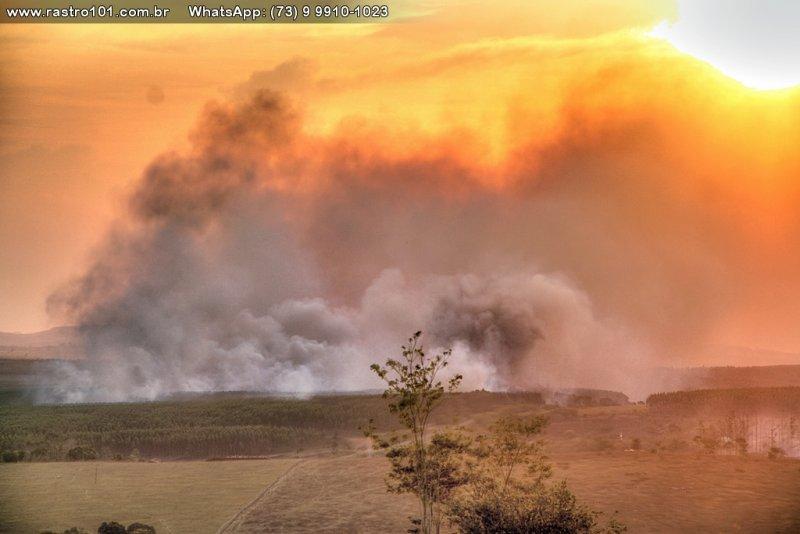 Incêndios na região causam prejuízos financeiros e riscos à saúde (Rastro101)