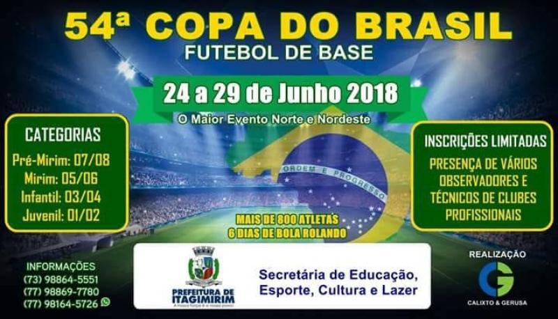 A Copa do Brasil de Futebol de Base é um evento realizado em todo pais. (Divulgação)