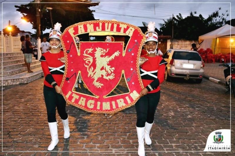FANJUITA foi campeã em torneio de fanfarras em Canavieiras. (ASCOM)