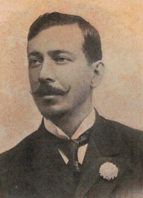 Osório Duque-Estrada, poeta que compôs a terceira letra do Hino Nacional