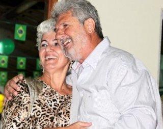 Márcia Colimbi e seu esposo Ramon Colombi (Foto: Tim/Rastro101)