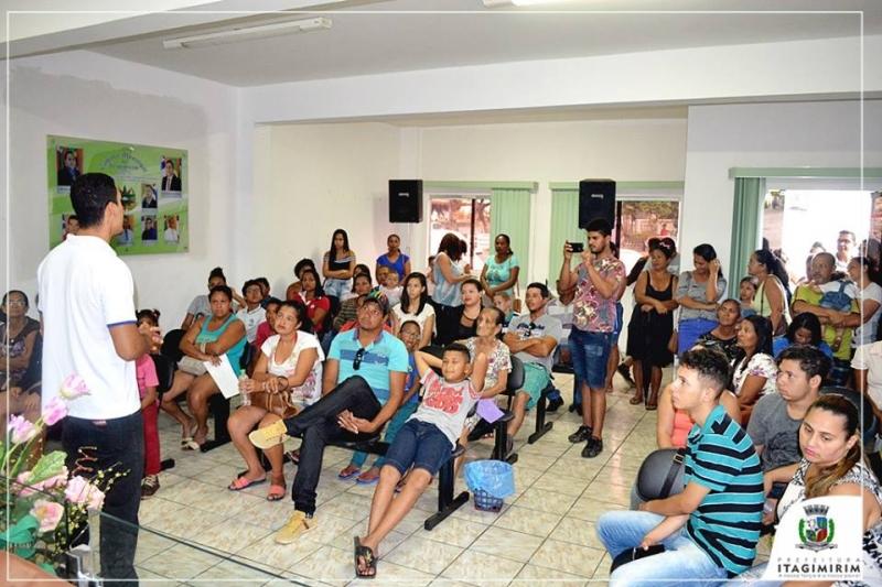A primeira etapa deu iniciou nesta segunda-feira (29), com a triagem dos pacientes na Câmara de Vereadores. (Ascom-Itagimirim)