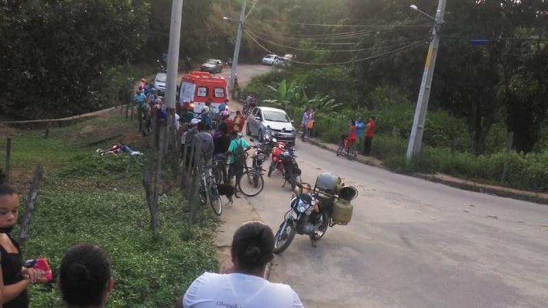 Adolescente morre em acidente de moto. (Radar64)