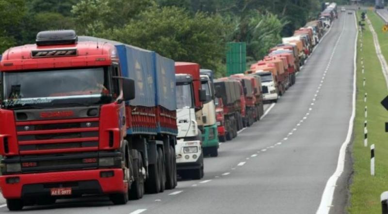 A greve dos caminhoneiros perdurou por 10 dias. (Reprodução)