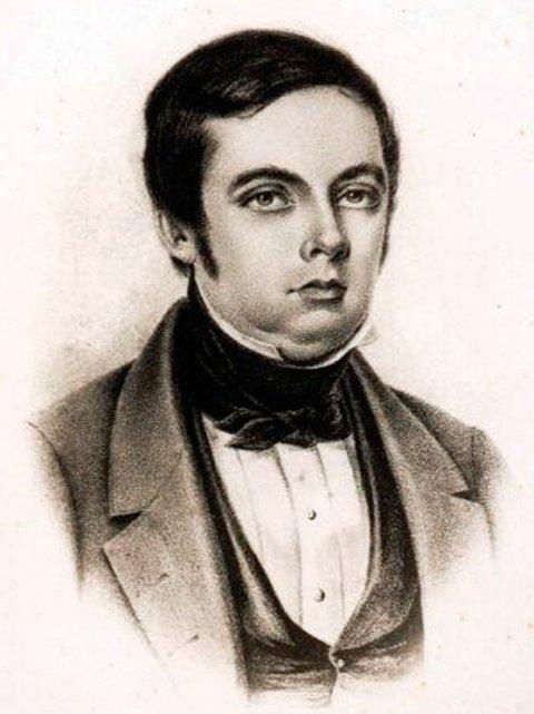O maestro Francisco Manoel da Silva, que compôs a melodia do Hino Nacional (retrato por Luís Aleixo Boulanger)