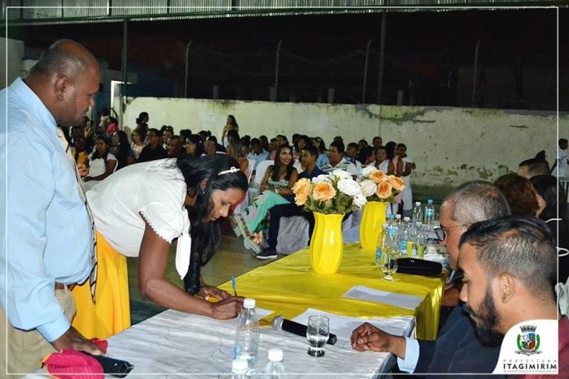 O Projeto Casamento Comunitário tem por objetivo a regularização do estado civil de casais que já vivem maritalmente ou não. (Ascom-Itagimirim)