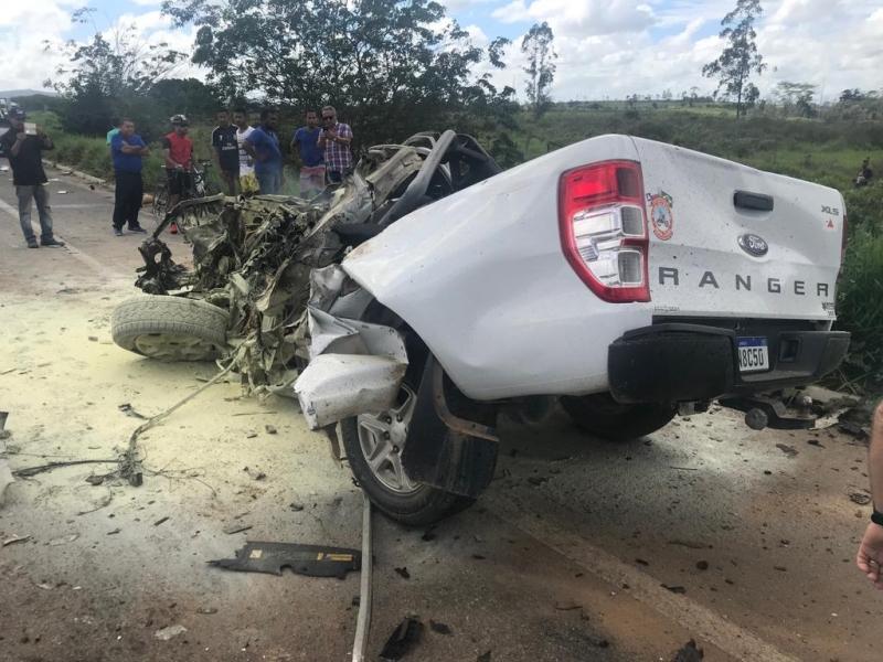 Motorista morreu em grave acidente na BR-101. (Rastro101)