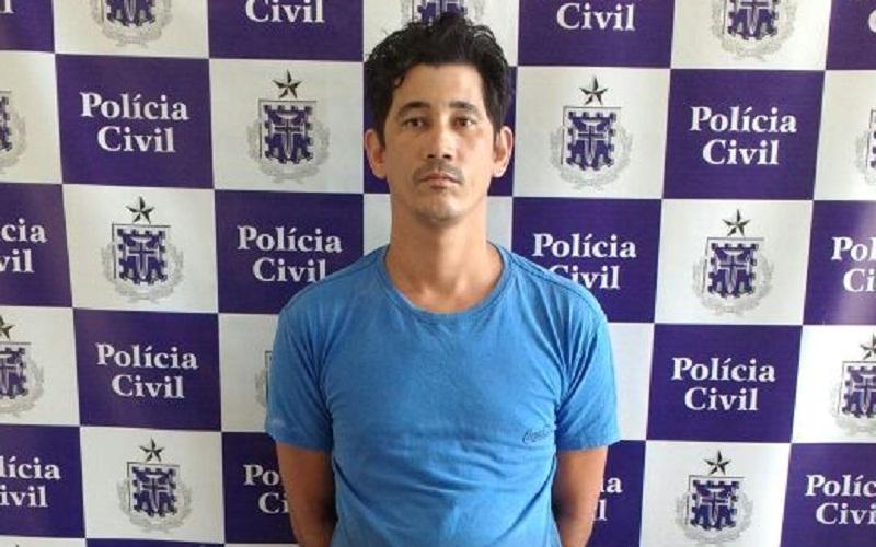 Adrian foi preso em flagrante por estupro de vulnerável. (Divulgação da Polícia Civil)