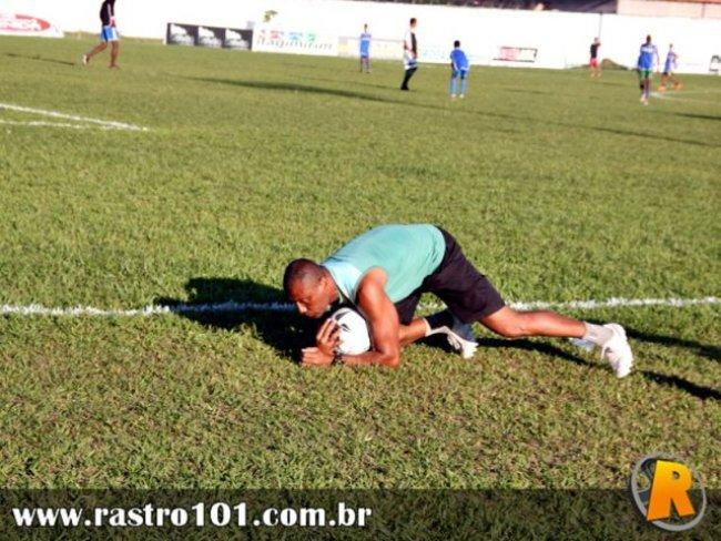 Romalho Gomes, goleiro da seleção eunapolitana, não levou nenhum gol durante seis partidas do Intermunicipal 2014. (Foto: Rastro101)