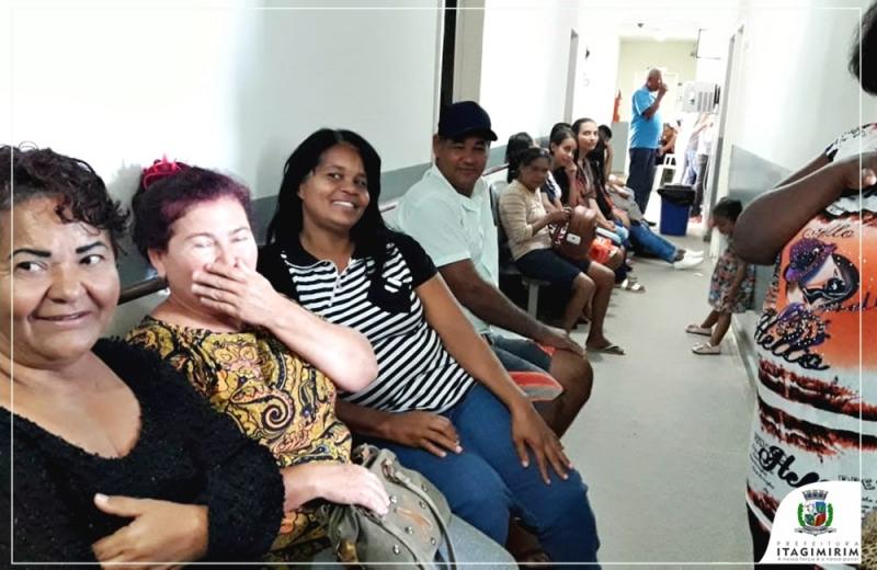 Em Itagimirim, 55 pacientes, em média, são conduzidos para a realização dos procedimentos cirúrgicos. (Divulgação)