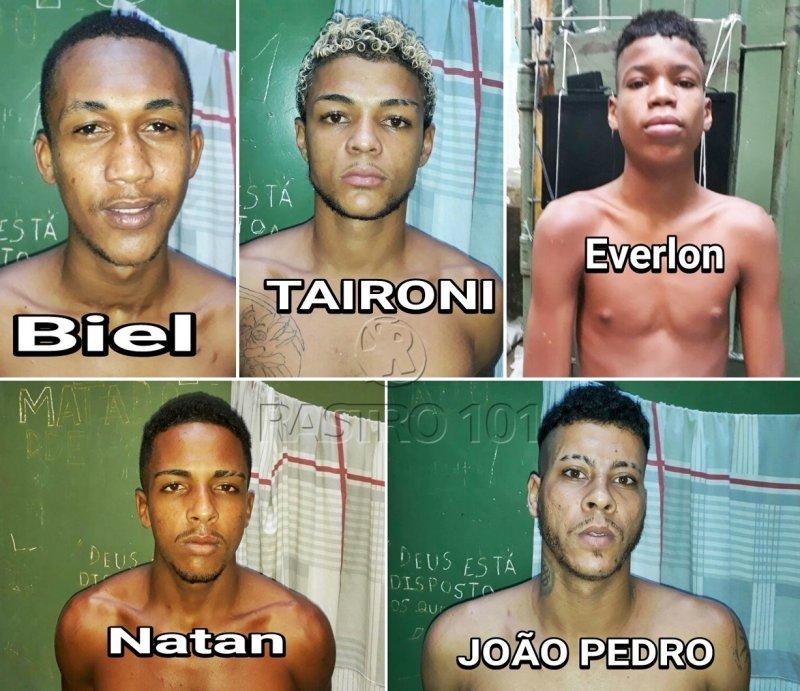 Cinco presos fugiram da Delegacia Territorial de Santa Cruz Cabrália (Divulgação/Polícia Civil)