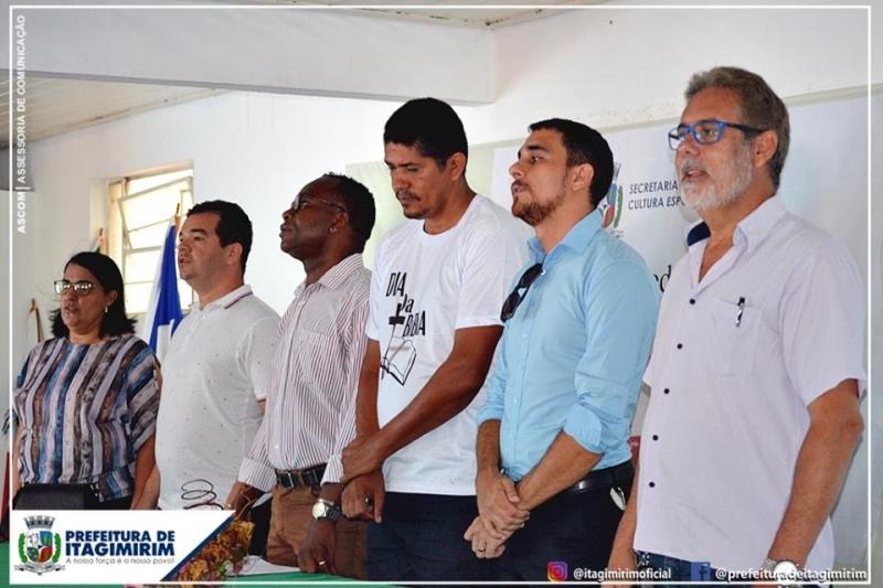 A programação contou com a participação do secretário de educação Rafael do Amaral, Conselho de Pastores e várias autoridades do poder executivo e poder legislativo.(Ascom-Itagimirim)