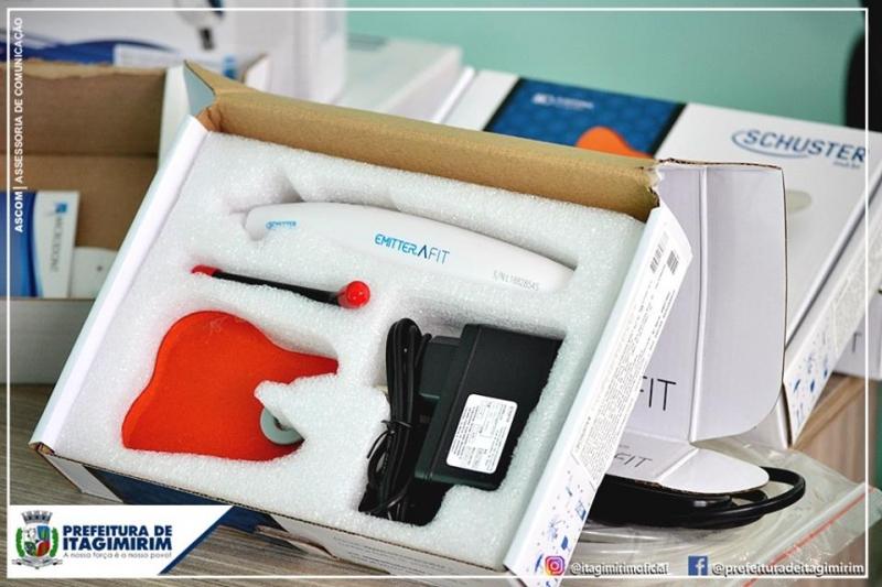 O kit de equipamentos já foi comprado e começou a ser implantado nas Unidades de Saúde. (Ascom-Itagimirim)