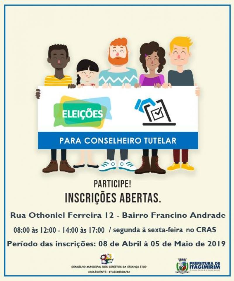 As inscrições estão sendo realizadas na Sede do CRAS de Itagimirim, na Rua Othoniel Ferreira, nº12, Bairro Francino Andrade, de 8h às 12h e das 14h às 17h. (Ascom-Itagimirim)