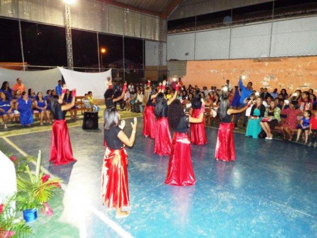 Assembleia de Deus em União Baiana realizou o Congresso de Senhoras e Jovens. (Foto: Adson Oliveira/Rastro101)