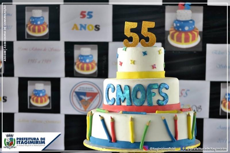 Colégio Municipal Othoniel Ferreira dos Santos completa 55 anos. (ASCOM-Itagimirim)