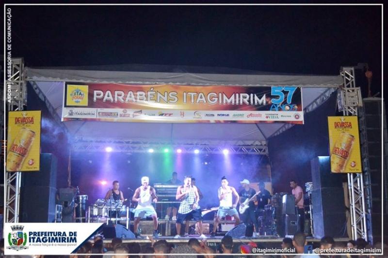 Segunda noite de shows do Itafolia 2019. (Ascom-Prefeitura de Itagimirim)