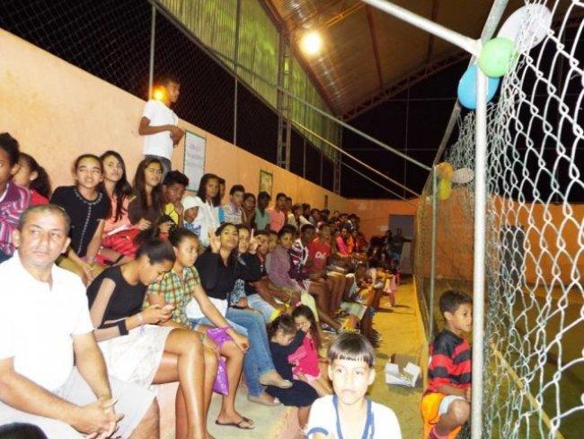 Público lotou a quadra em União Baiana (Foto: Adson Oliveira / Rastro101)