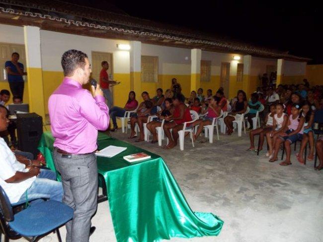 Reunião contou com a participação de alunos e convidados. (Foto: Adson Oliveira/Rastro101)