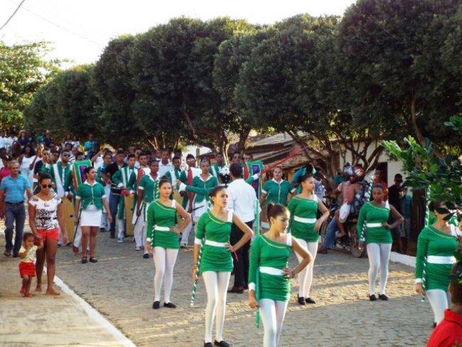 Comemoração de 7 de Setembro em União Baiana foi perfeito. (Foto: Adson Oliveira/Rastro101)