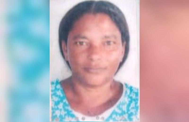 Neuzeni Araújo de Souza morreu no  acidente. (Reprodução SulBahia News)