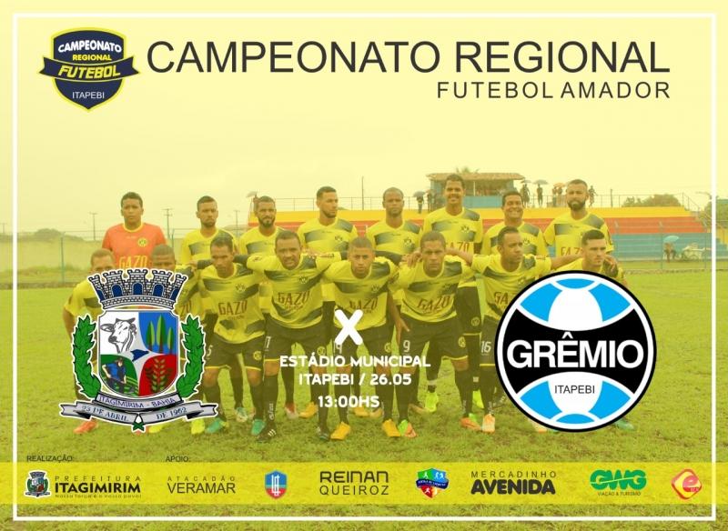 Itagimirim enfrente o campeão Grêmio de Itapebi. (Departamento de Esportes)