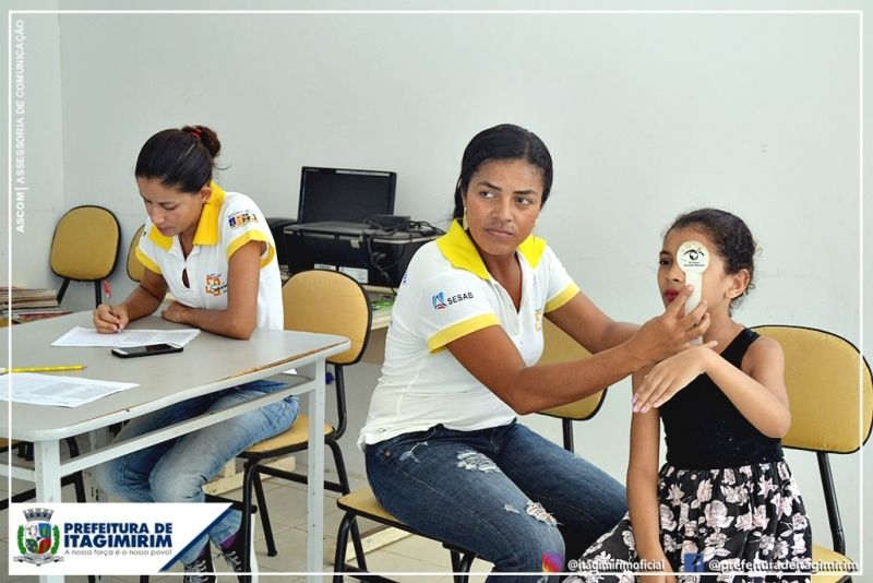 O programa visa a integração e articulação permanente da educação e da saúde. (Ascom-Prefeitura de Itagimirim)