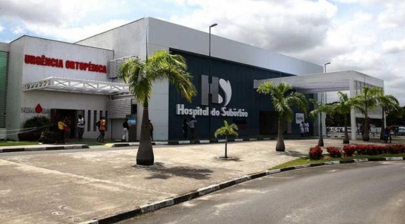 Criança foi encaminhado ao Hospital do Subúrbio em Salvador. (Imagem: Reprodução)