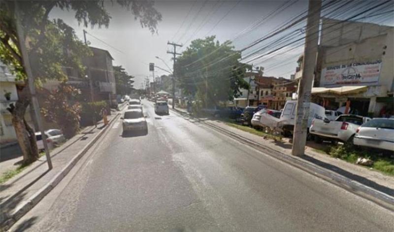 Avenida Jorge Amado. (Reprodução/Google Maps)