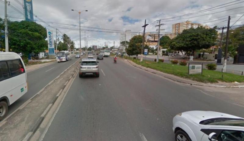 Fato ocorreu na BA-099, conhecida como Estrada do Coco. (Imagem: Google Maps)