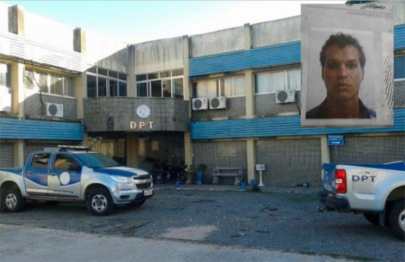 Corpo foi encaminhado ao DPT da cidade. (Imagem: Central de Polícia)
