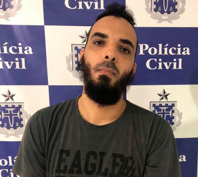 Homem foi preso em flagrante. (Divulgação/SSP-BA)