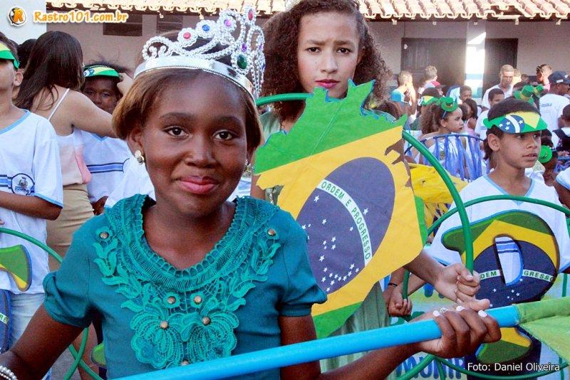 Professores trabalharam o incentivo ao resgate cultural e cívico nas escolas. (Daniel Oliveira)