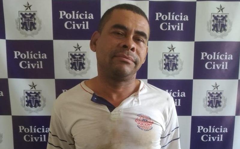 Pastor é preso por estupro em Itamaraju. (Imagem: Divulgação)