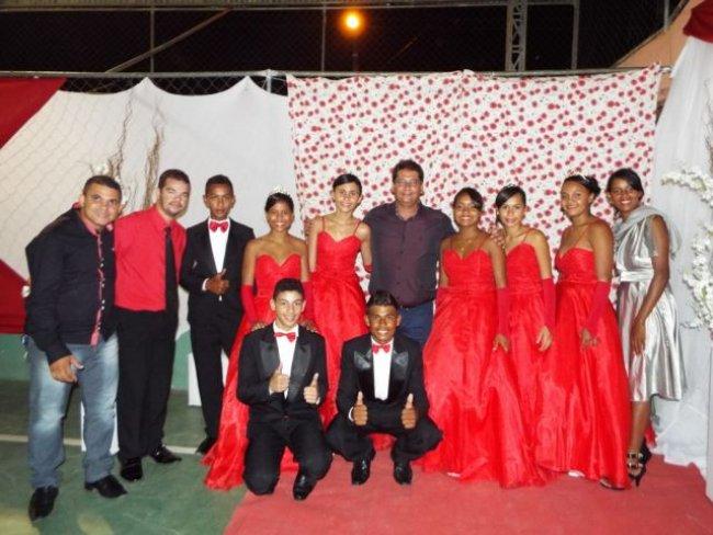 Alunos participaram de encerramento do Ensino Fundamental com linda festa. (Foto: Adson Oliveira)