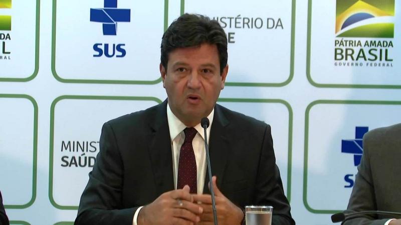 Ministro da Saúde, Luiz Henrique Mandetta. (Reprodução)