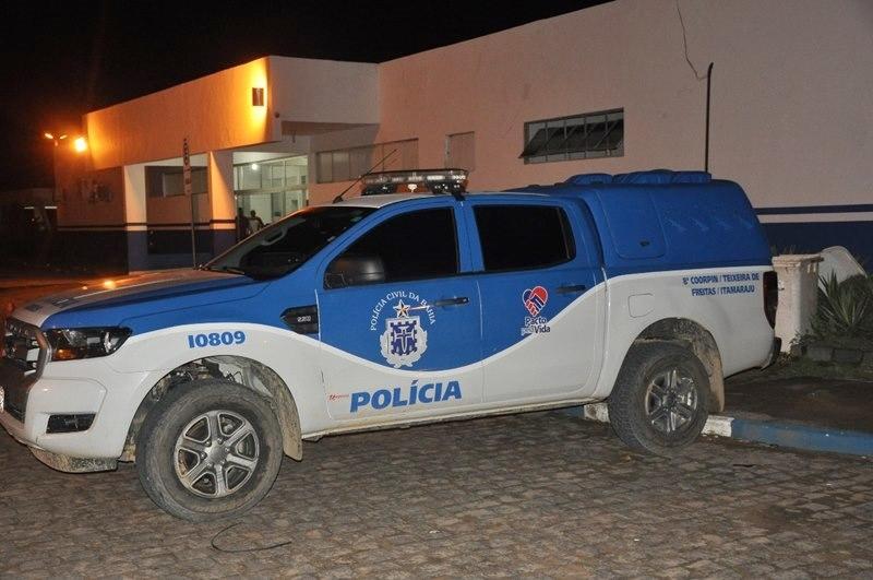 Vítima foi encaminhada ao Hospital Municipal de Itamaraju, mas não resistiu. (Foto Alexsandro Vieira)