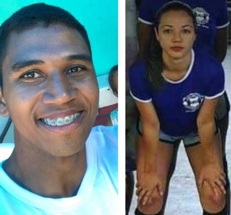 Imagens de Tiago e Celenes: (Reprodução: Itacaré Urgente)