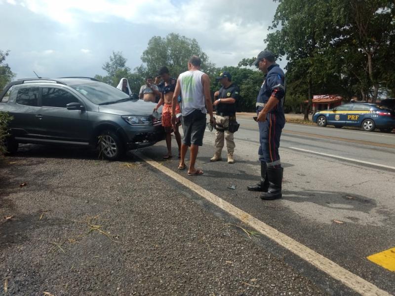 Segundo acidente ocorreu poucos minutos após o primeiro. (Rastro101)