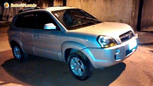 Veículo Tucson roubado de uma empresária em Itagimirim também foi recuperado. (Foto: Rastro101)