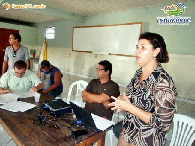 A assistente social Izabel Bianchi, que vem acompanhando todo o processo de criação do Agrovida. (Foto: ASCOM)