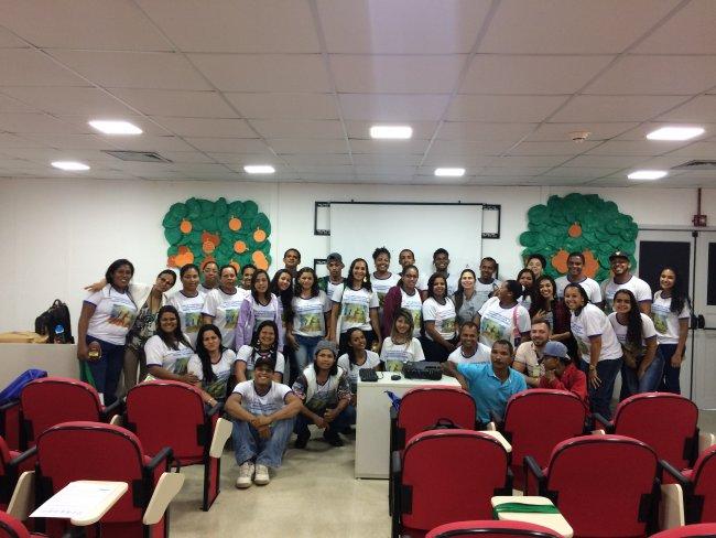 Alunos - curso Agente de Desenvolvimento Comunitário (Ascom/Veracel)