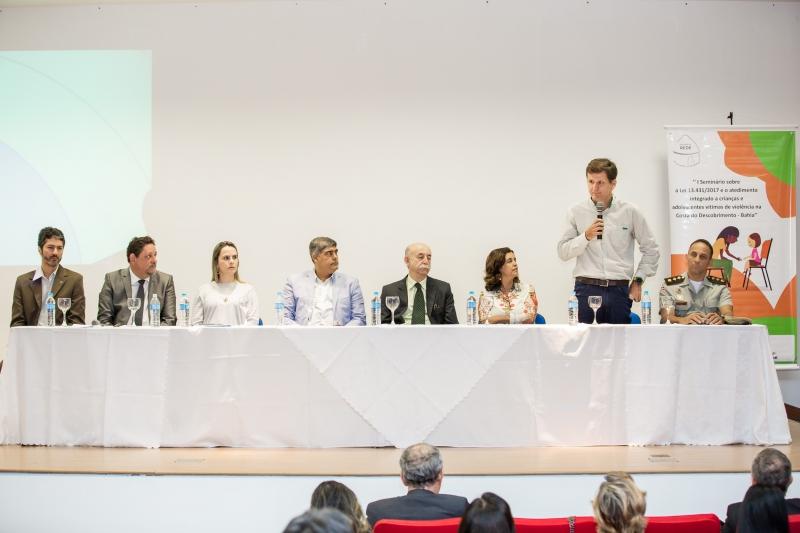 O diretor-presidente da Veracel, Andreas Birmoser, participou do primeiro dia do seminário. (Divulgação)