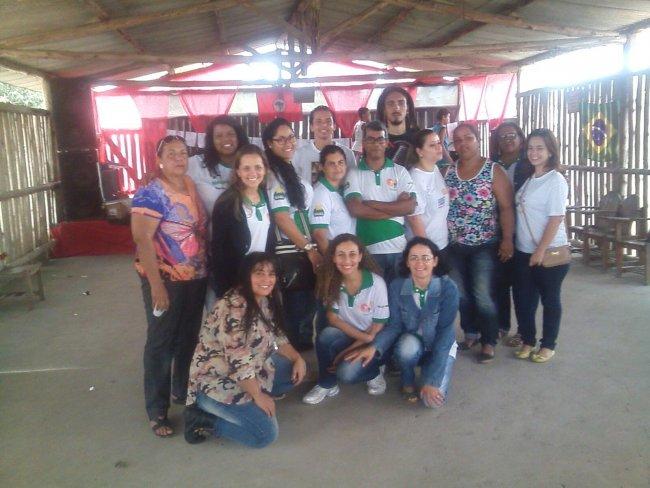 Equipe da Assistência Social em Eunápolis. (Foto: ASCOM-SEMAS)