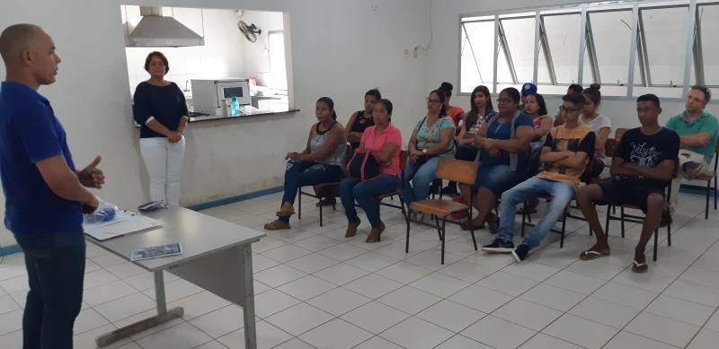 Aula inaugural do curso. (Divulgação/Veracel)