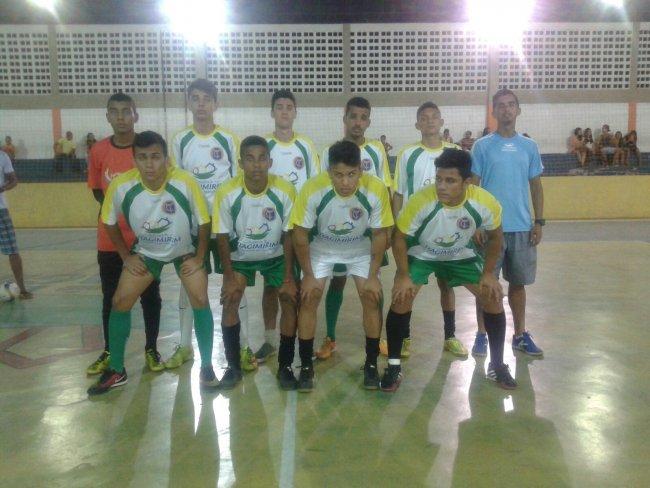 Seleção de Futebol de Salão Sub-17 de Itagimirim. (Foto: Divulgação)