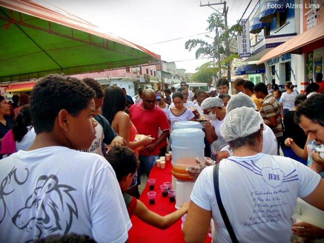 Café da manhã caprichado foi servido aos participantes. (Foto: Alziro Lima)